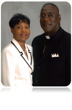 Pastor & 1st Lady Gipson